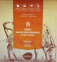 Veau sauce provencale et ses legumes - Product - fr