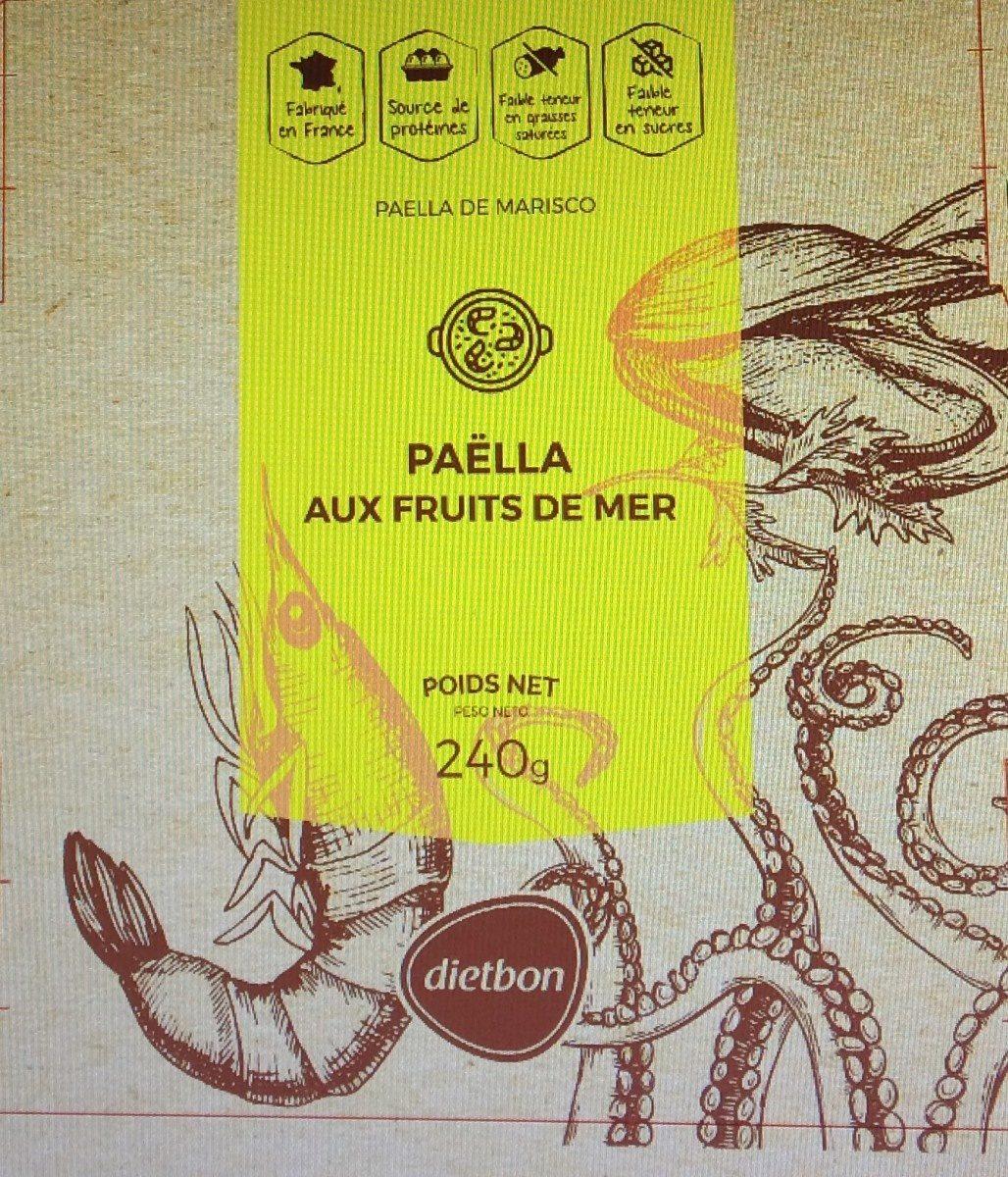 Paëlla aux fruits de mer & crevettes - Product - fr