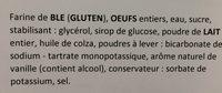 Pancake nature - Ingredients - fr