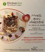Muesli anti-cholestérol aux pépites de chocolat - Produit - fr