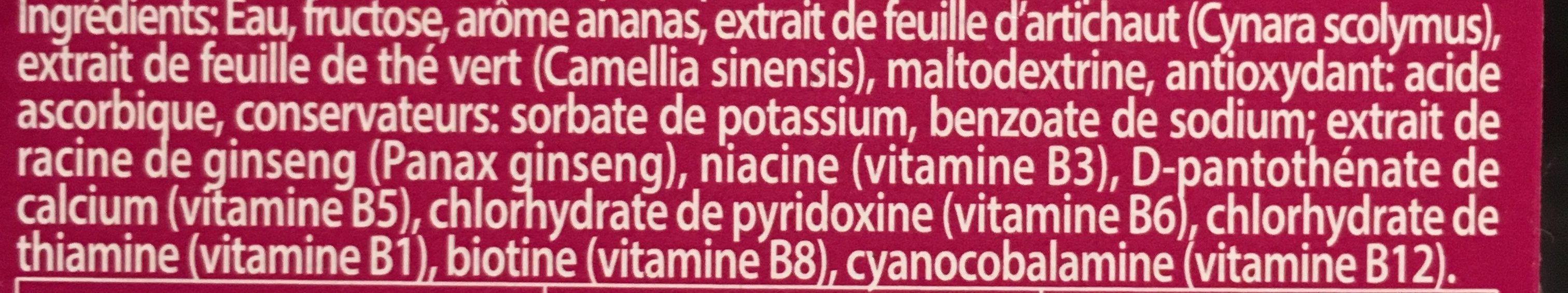 Best of tv/M6 4 Shots Minceur Ananas 14 - Ingredients