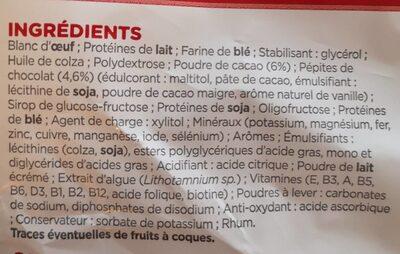 Insudiet Mini Cake Tout Chocolat X - Inhaltsstoffe