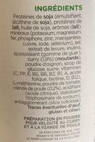 Insudiet Velouté Poulet Curry - Ingrédients
