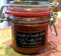 Compotée de tomate séchées à la truffe d'été - Product - fr