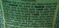 Sauce algerienne - Ingrediënten