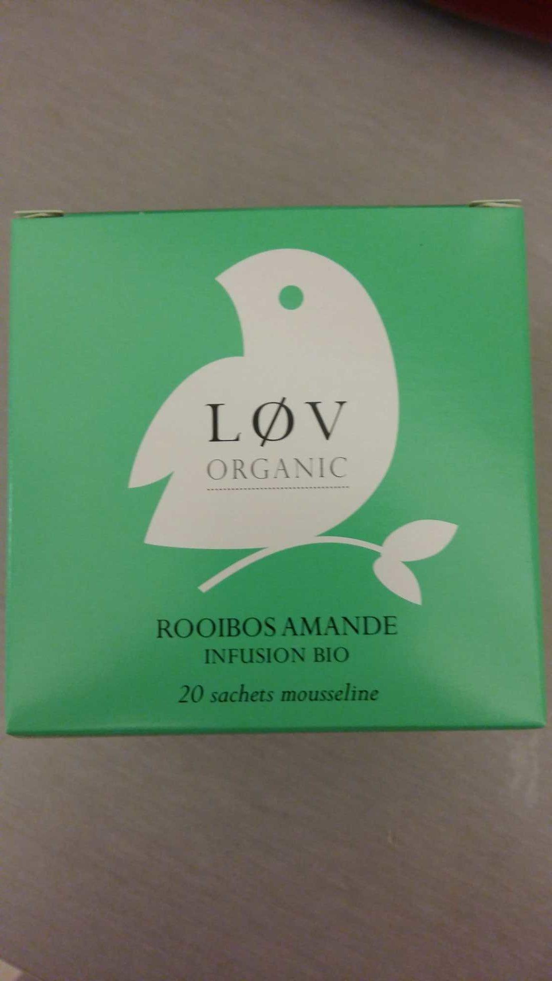 Almond rooibos - Produit