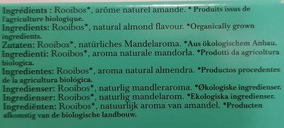 Almond rooibos - Ingrédients