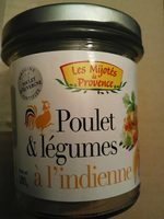Poulet et légumes a l indienne - Produit - fr