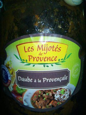 Daube à la provençale - Produit - fr