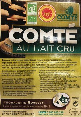 Comte - Produit - fr