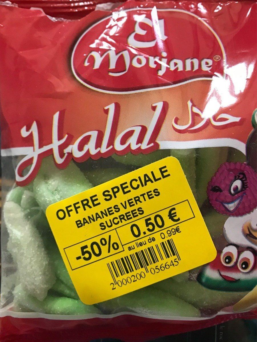 Bananes vertes sucrées Halal - Product