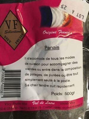 Panais - Produit - fr