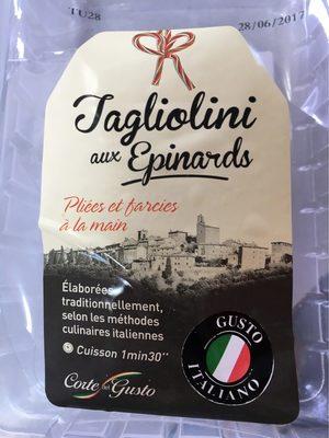 Taglioni aux épinards - Produit