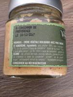Houmous de pois chiches et aubergines - Ingrédients