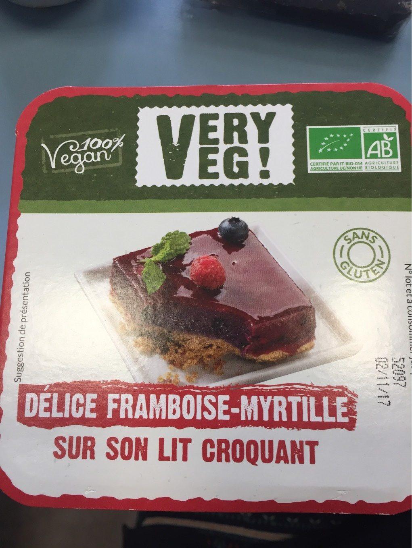 Delice framboise myrtilles - Produit