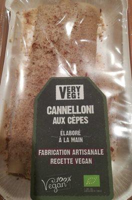 Cannelloni aux cèpes - Product