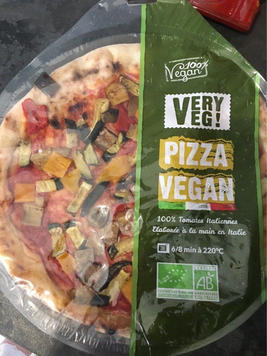 Pizza Vegan Bio Tomates et légumes grillés - Produit