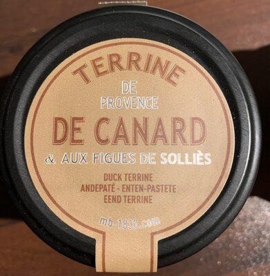Terrine de canard aux figues de Sollies - Produit - fr