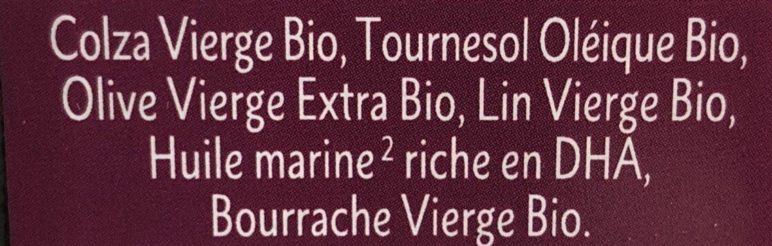 Mélange 6 Huiles Futures Mamans Bio - 500ML - Quintesens - Ingrediënten - fr