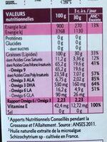 Mélange 6 Huiles Futures Mamans Bio - 500ML - Quintesens - Informations nutritionnelles - fr
