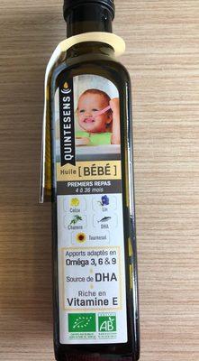 Mélange 6 Huiles Bébé Bio - 250ML - Quintesens - Produit - fr