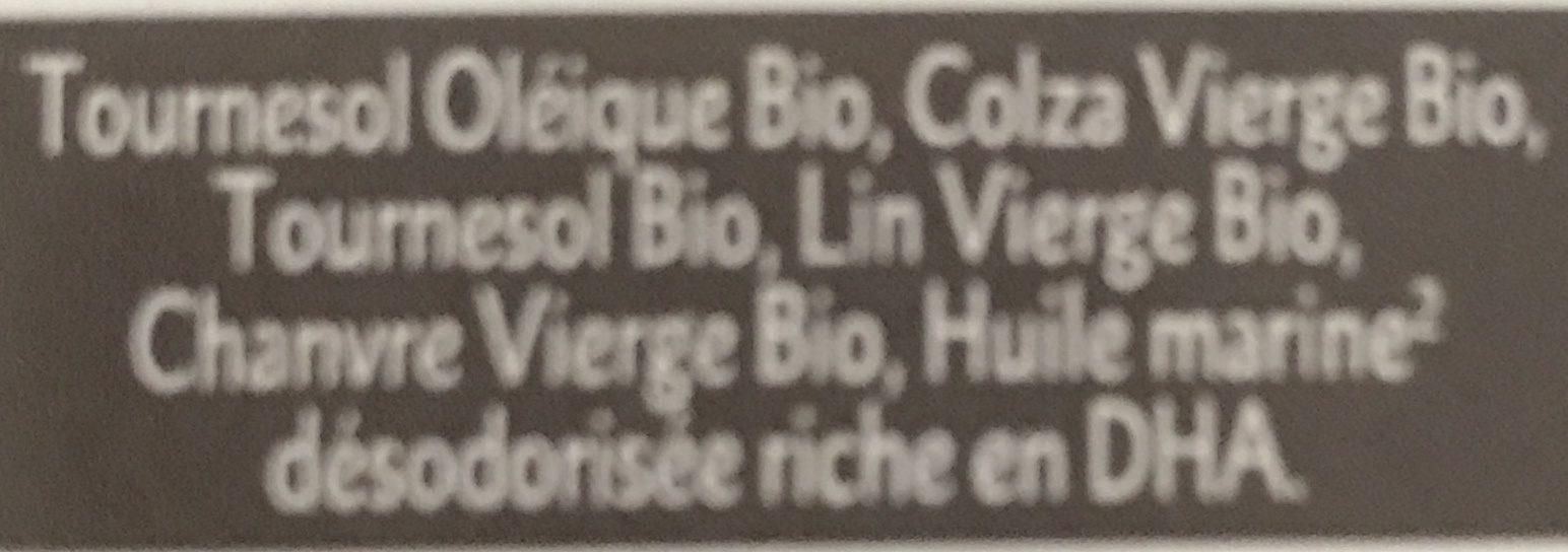 Mélange 6 Huiles Bébé Bio - 250ML - Quintesens - Ingrédients - fr