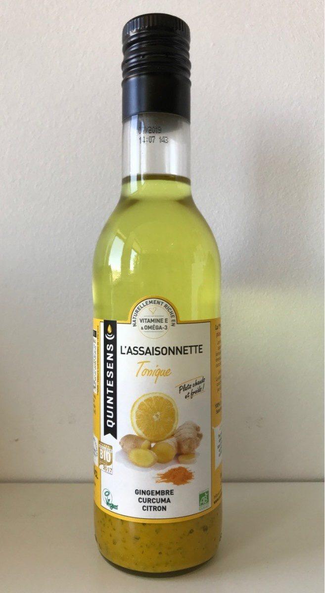 Assaisonnette - La Tonique - Gingembre, Curcuma, Citron - Produit - fr