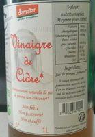 Vinaigre de cidre - Produit - fr