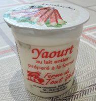 Yaourt au lait entier préparé à la ferme - Produit - fr
