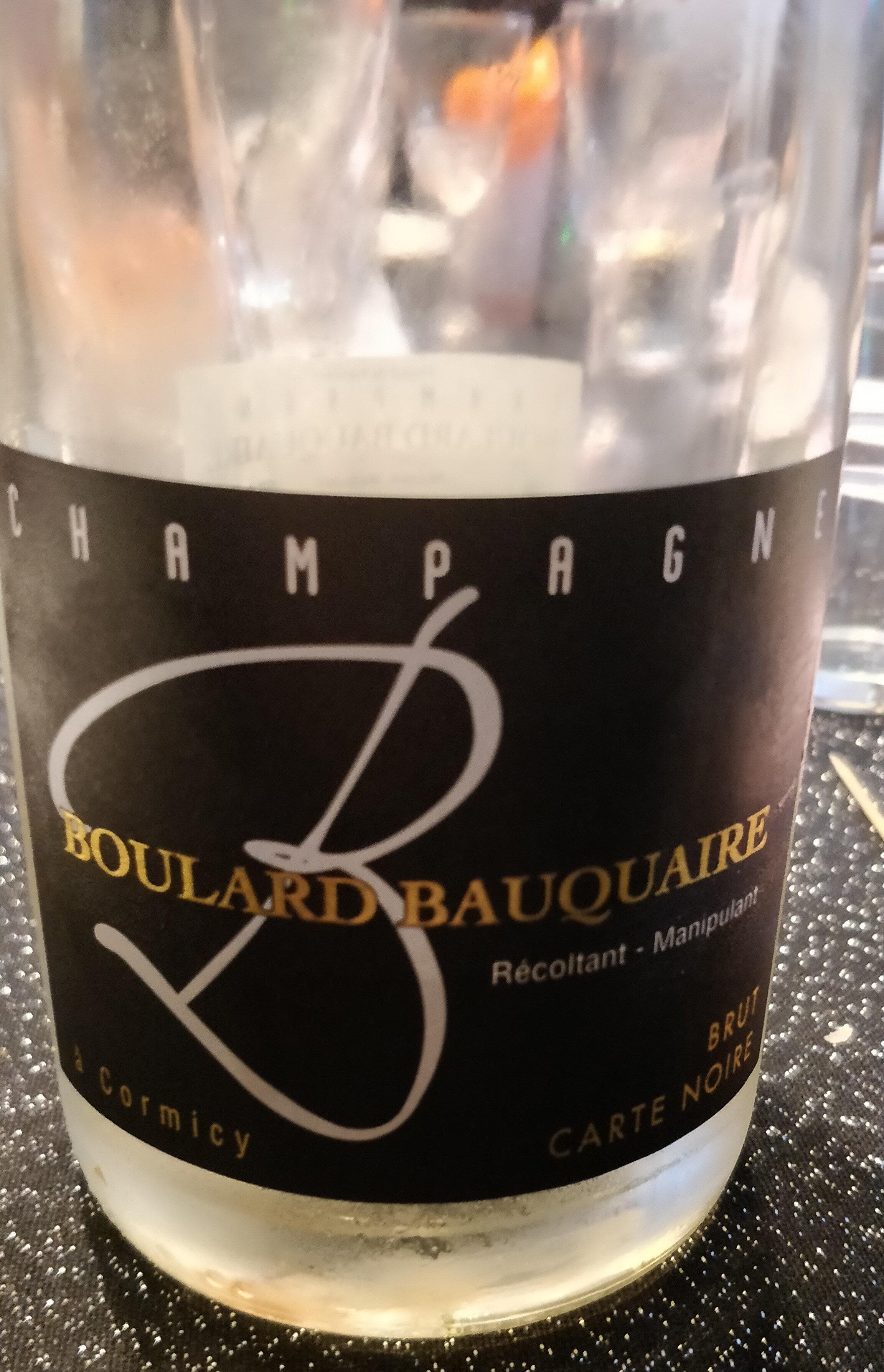 Champagne Boulard Bauquaire - Produit - fr