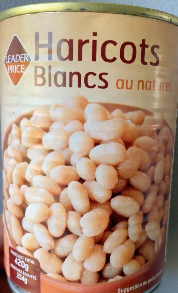 Haricots blancs au naturel - Produit - fr