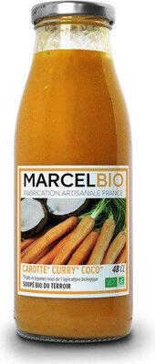 Soupe bio carotte curry coco - Prodotto - fr
