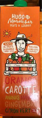 Orange carotte ananas mangue gingembre citron vert - Product