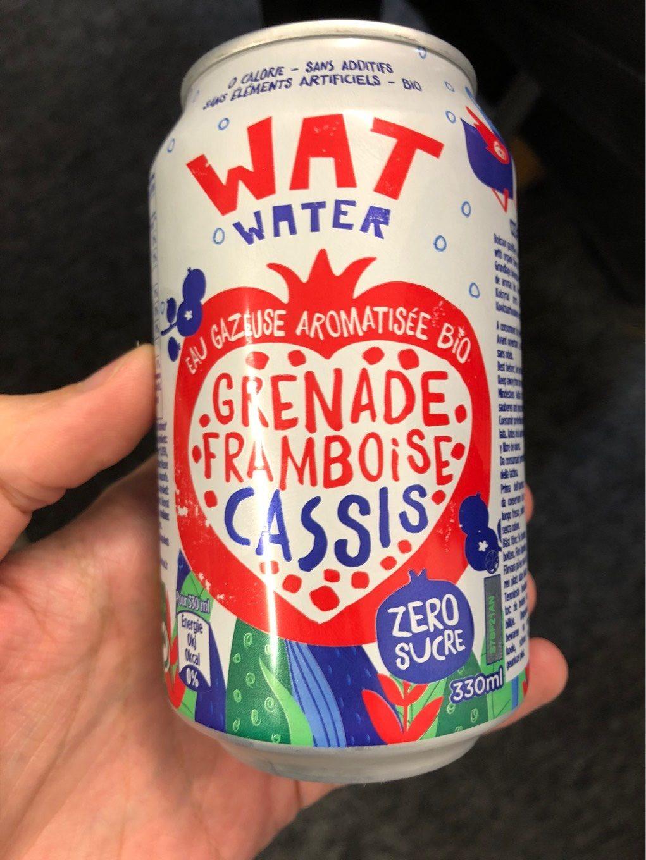 Wat water grenade framboise cassis - Produit