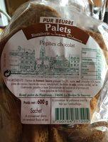 Palets Pur Beurre Pépites de Chocolat - Produkt - fr