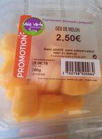Dès de melon - Produit
