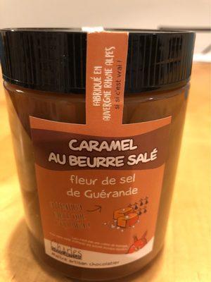 Caramel au beurre salé, fleur de sel de Guérande - Product