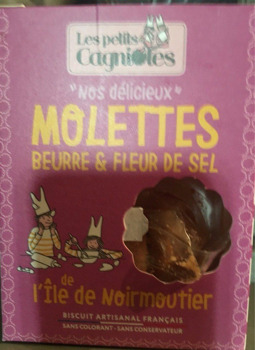 Molettes beurres & fleur de sel - Produit