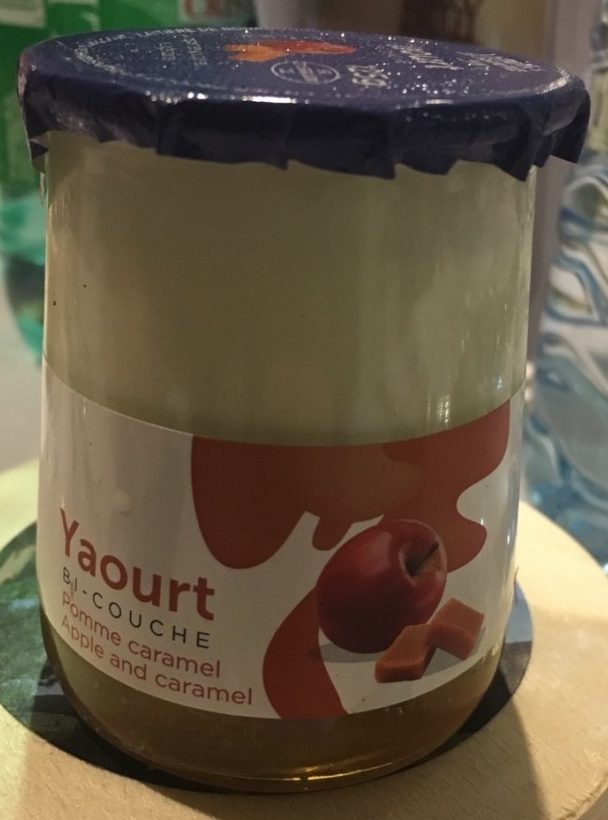 Yaourt bi couche pomme caramel - Product