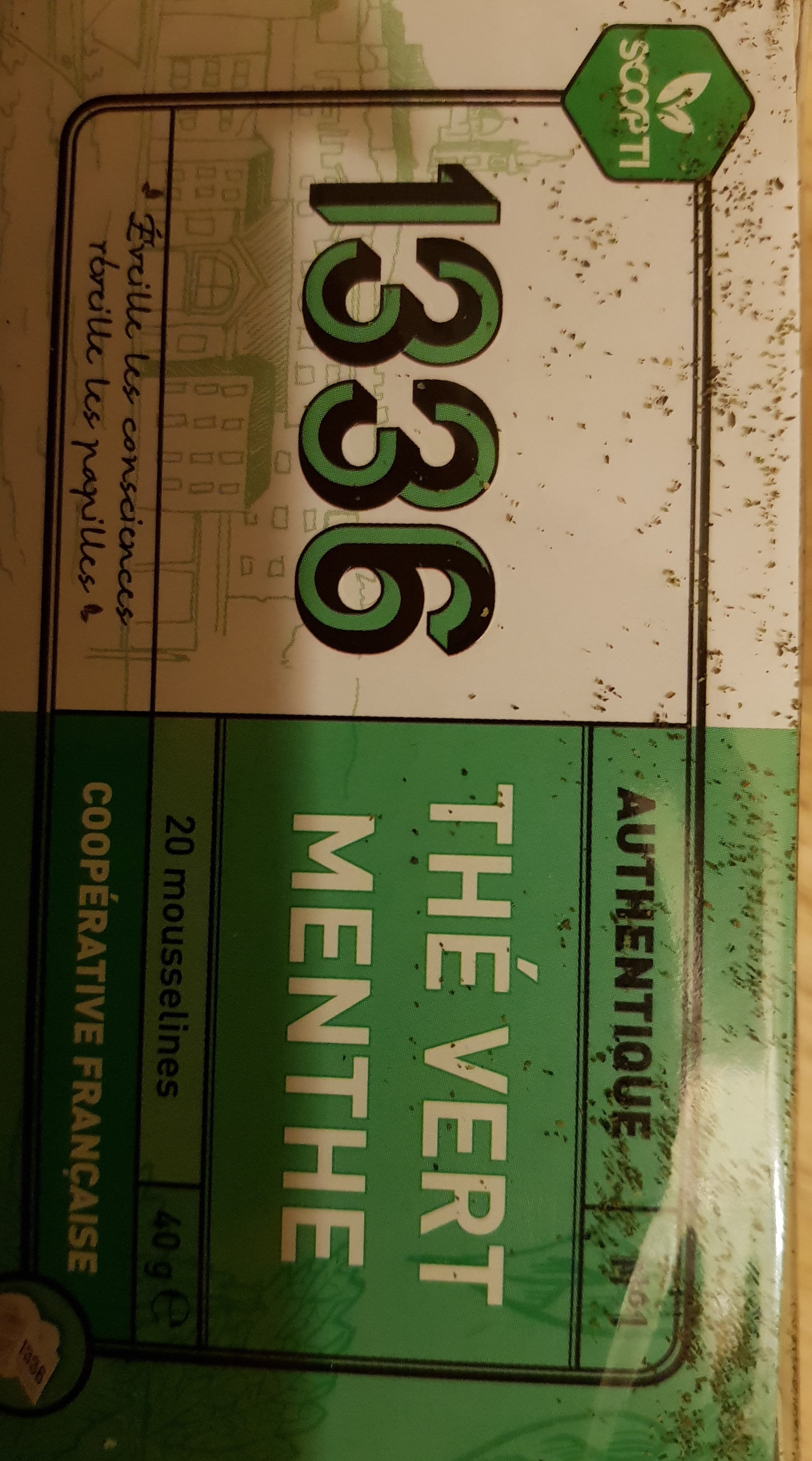 Thé Vert Menthe - Nutrition facts