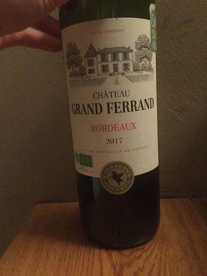 Vin de Bordeaux - Prodotto - fr