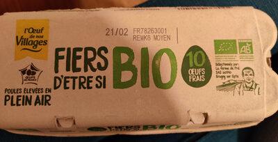 Oeufs bio - Produit - fr