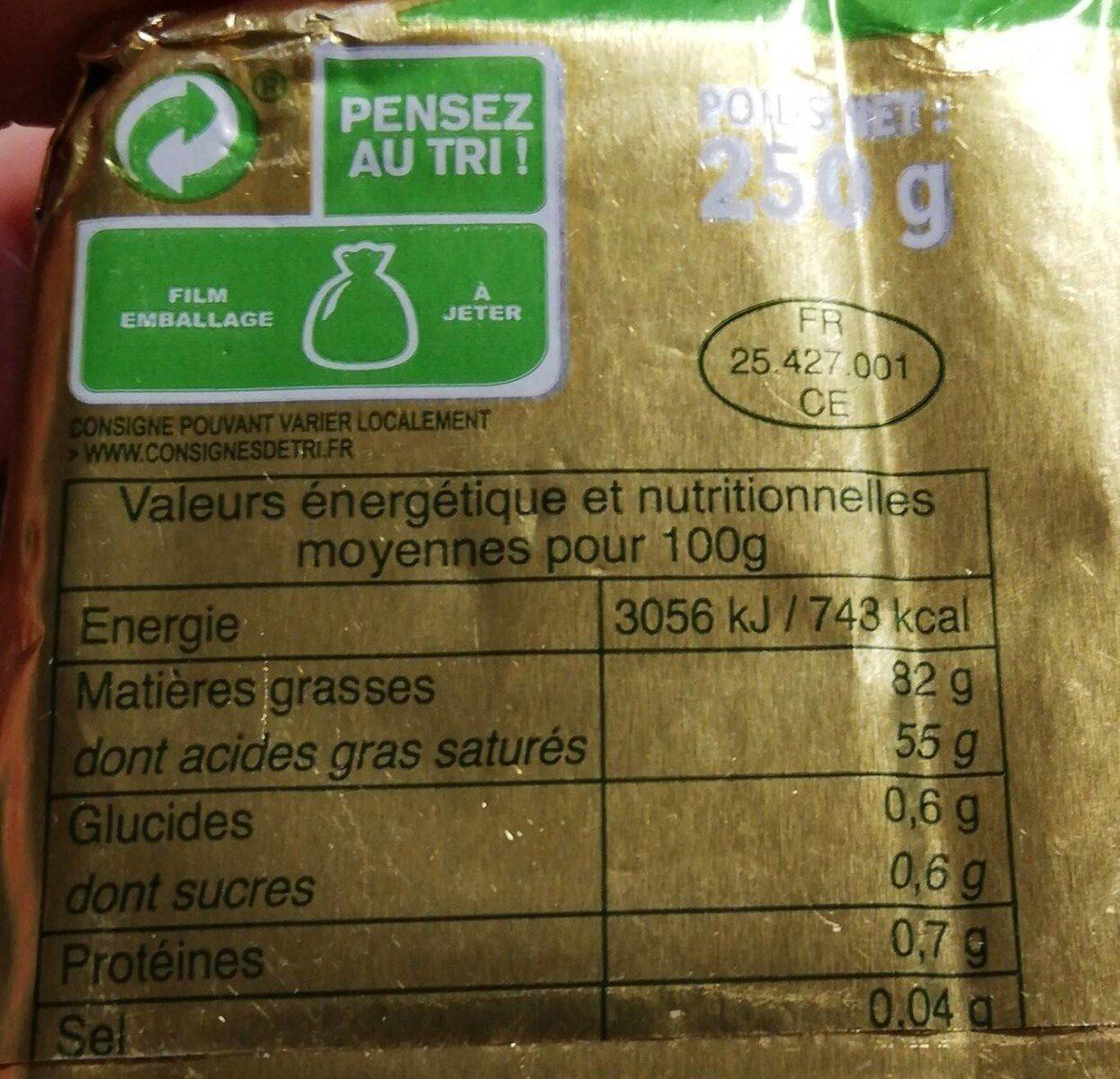 Mulin - Valori nutrizionali - fr