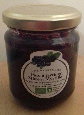 Pâte à tartiner Mûre et Myrtille - Product