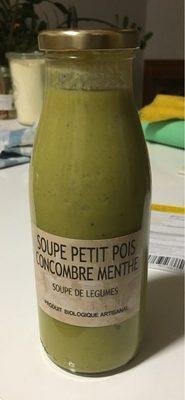 Soupe petit pois concombre menthe - Product - fr