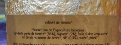 Velouté de tomates - Ingredients
