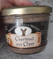 Terrine de chevreuil aux cèpes - Produit - fr