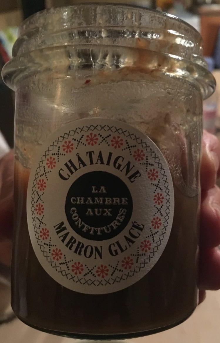 Chataigne marron glacé - La Chambre aux Confitures - 200 g