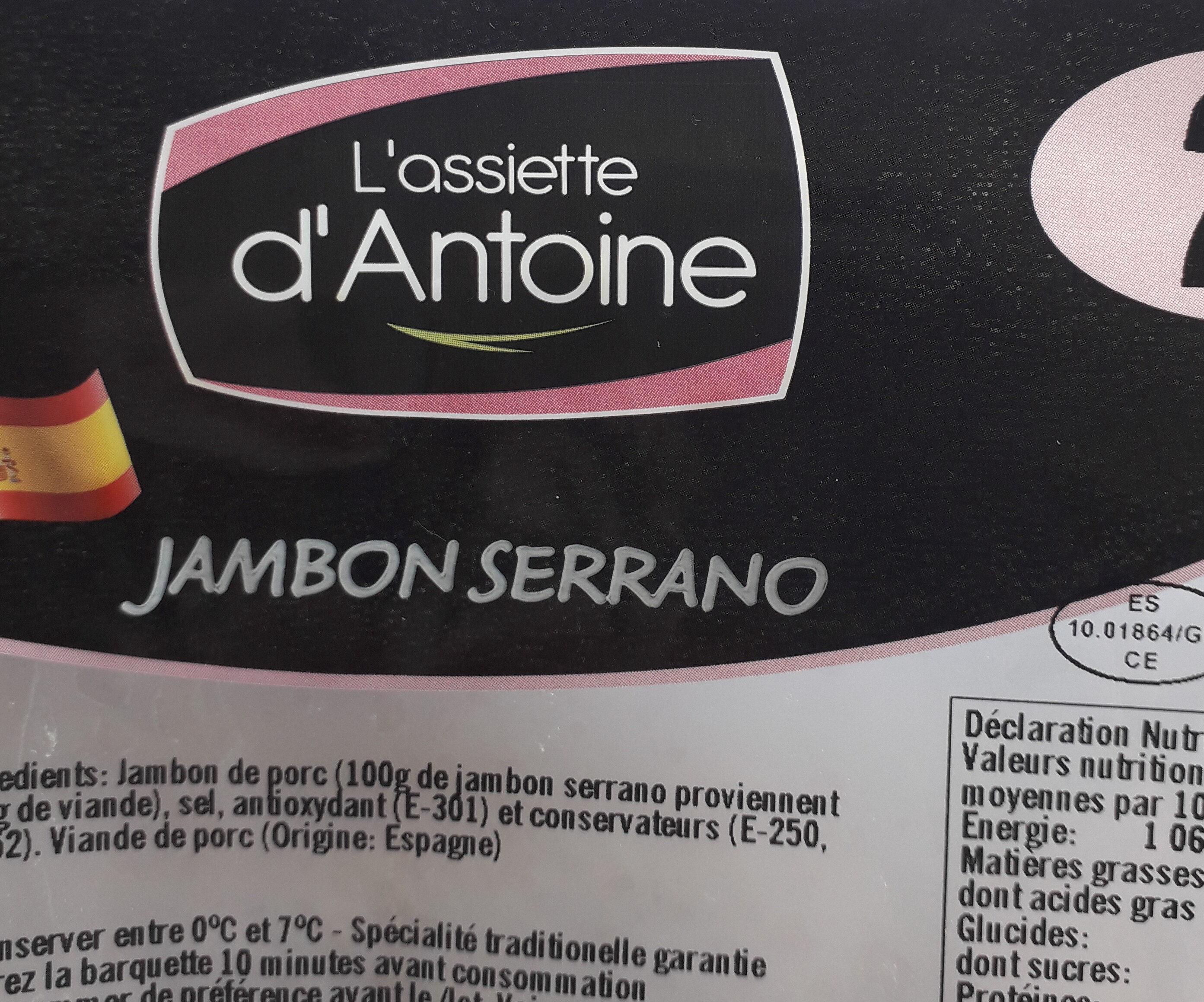 L'assiette d'Antoine - Produit - fr