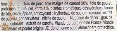 Mousse de canard - Ingredients - fr